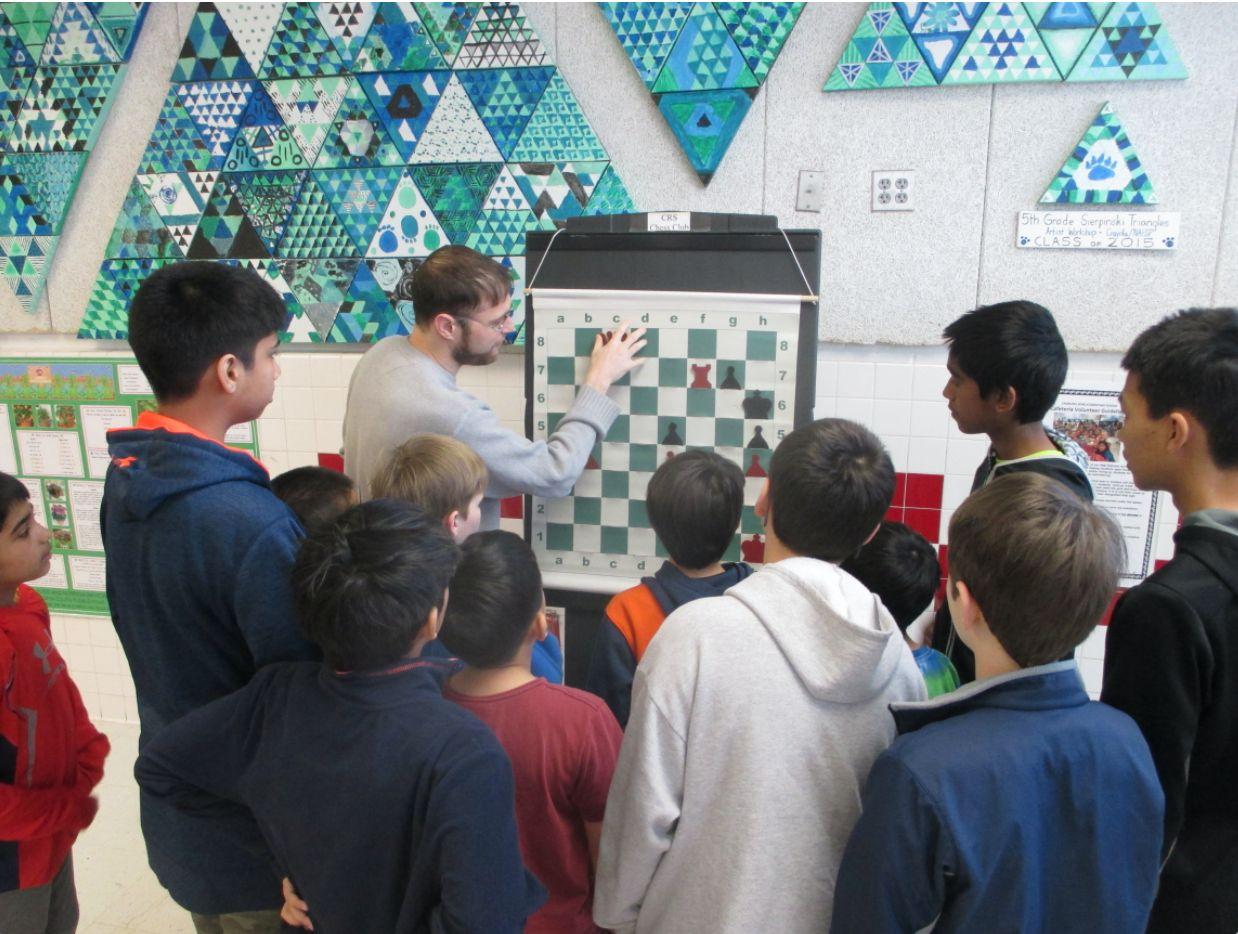 Swain teaching chess